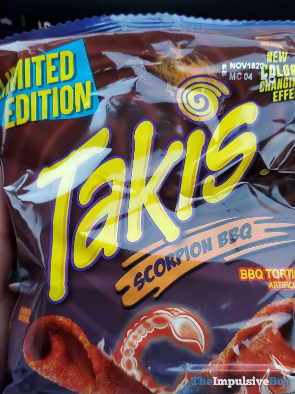 Limited Edition Scorpion BBQ Takis