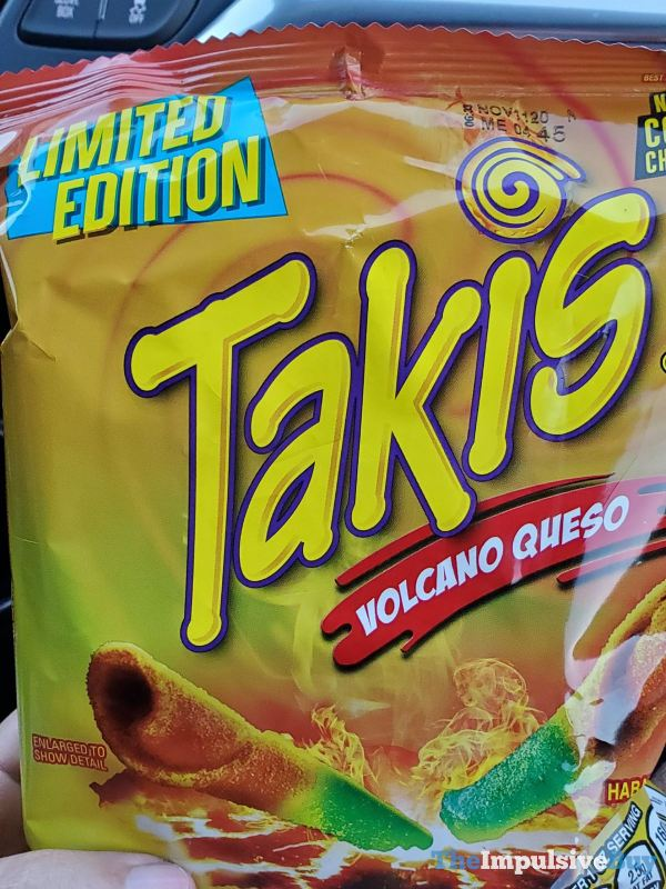 Limited Edition Volcano Queso Takis