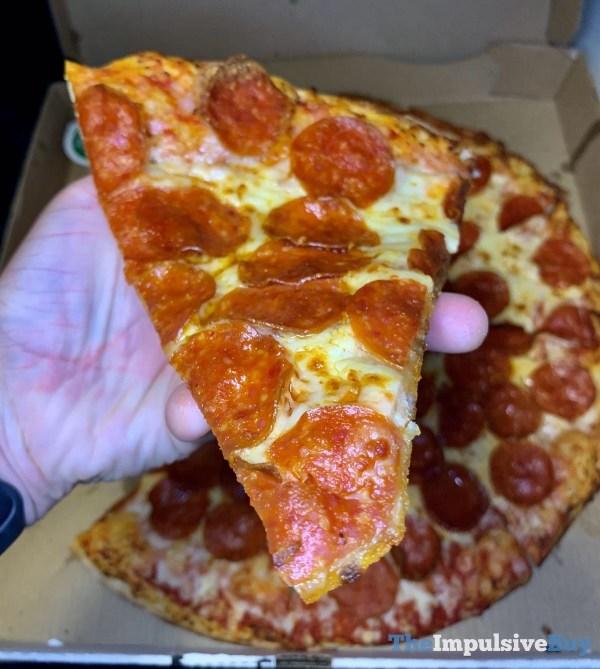 Papa John s Shaq a Roni Pizza Slice