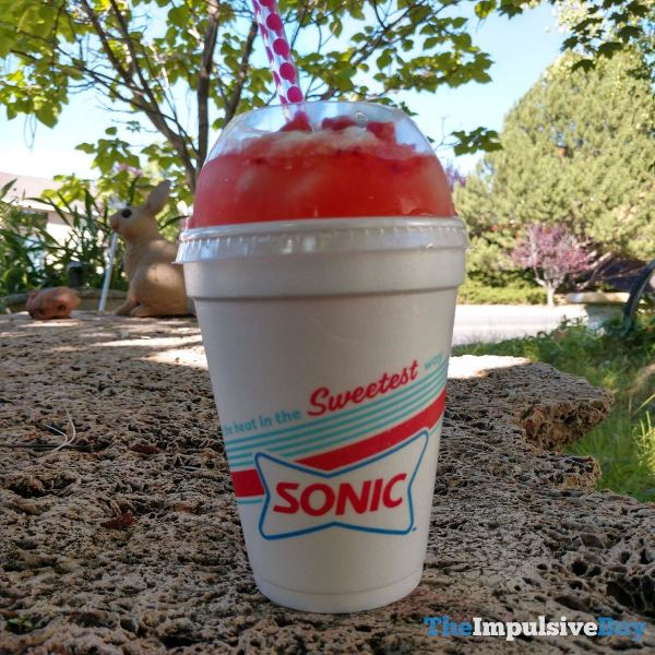 Sonic Lemonberry Slush Float