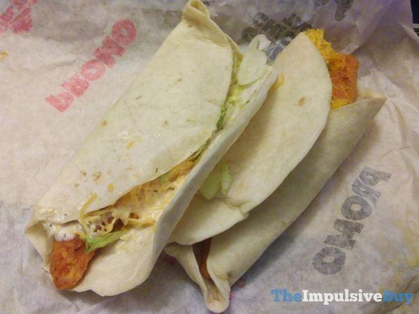 Del Taco Crispy Chicken Tacos 2