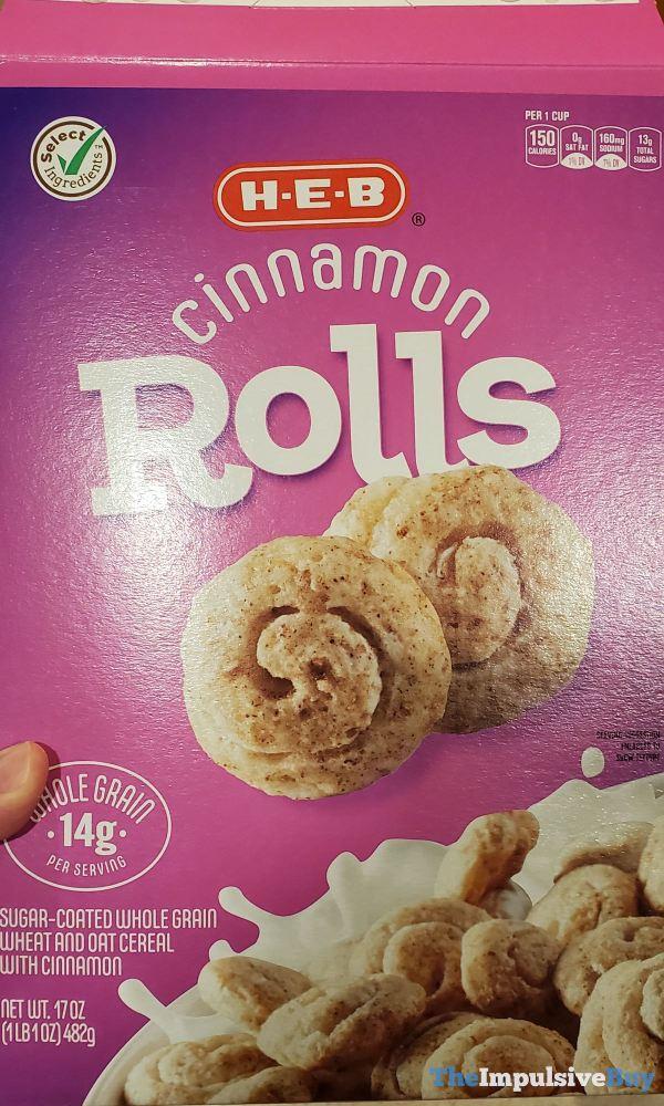 H E B Cinnamon Rolls Cereal