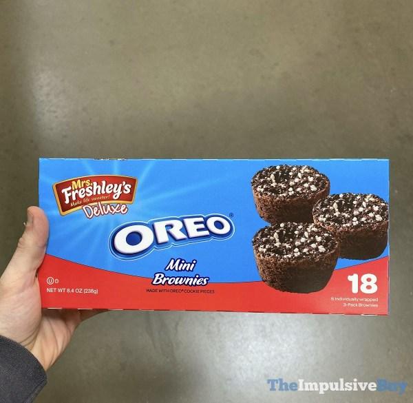Mrs Freshley s Deluxe Oreo Mini Brownies