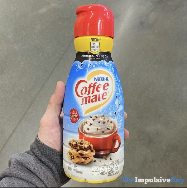 Nestle Coffee mate Nestle Toll House Cookies  N Cocoa Creamer