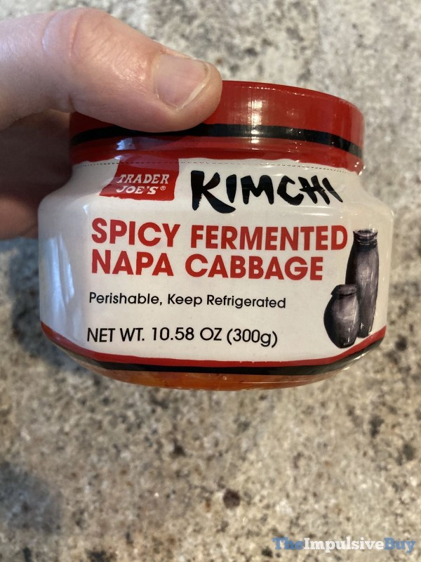 Trader Joe s Kimchi Spicy Fermented Napa Cabbage