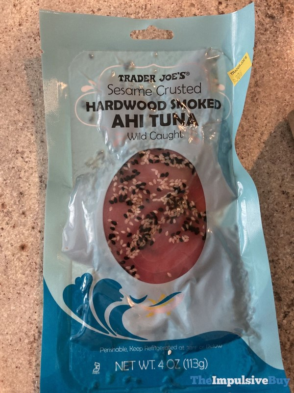 Trader Joe s Sesame Crusted Hardwood Smoked Ahi Tuna