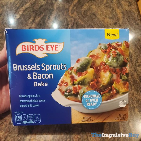 Birds Eye Brussels Sprouts  Bacon Bake