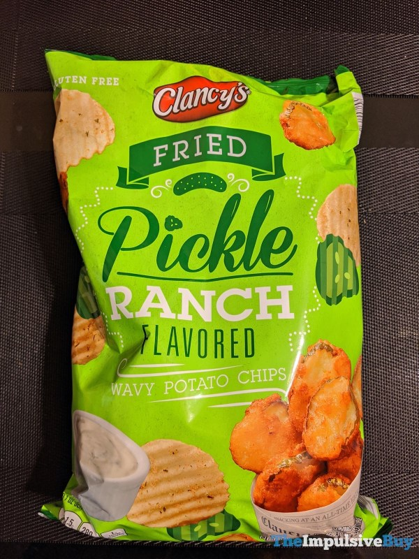 Clancy s Fried Pickle Ranch Wavy Potato Chips