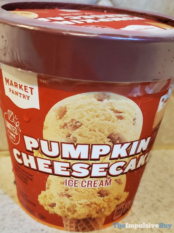 Market Pantry Pumpkin Cheesecake Ice Cream