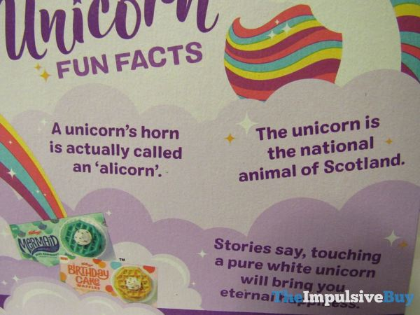 Kellogg s Unicorn Waffles Fun Fact