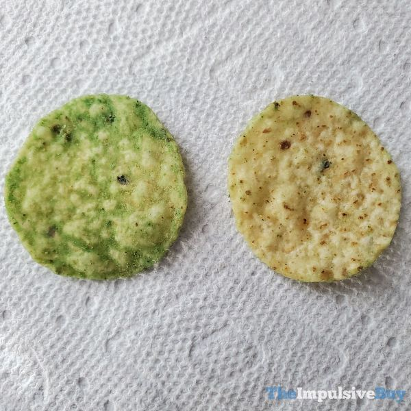 Tostitos Hint of Guacamole Tortilla Chips Closeup