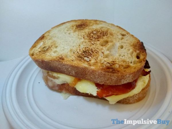 Dunkin Sourdough Breakfast Sandwich Whole