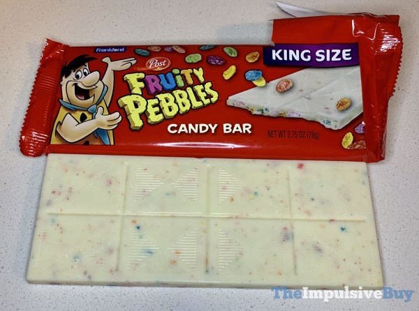 Frankford Fruity Pebbles Candy Bar Top