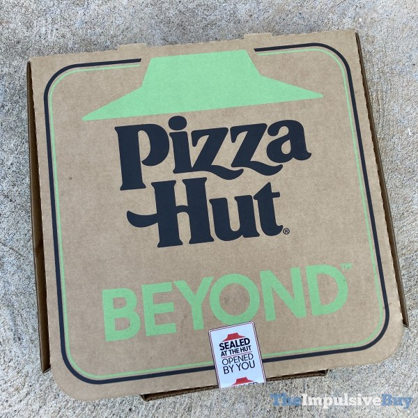 Pizza Hut Beyond Italian Sausage Pizza Box