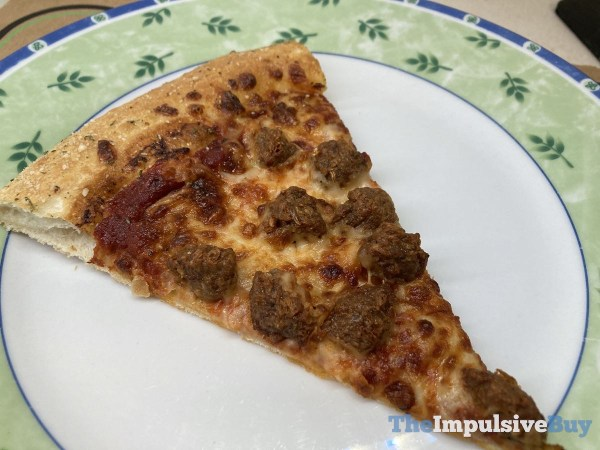 Pizza Hut Beyond Italian Sausage Pizza Slice