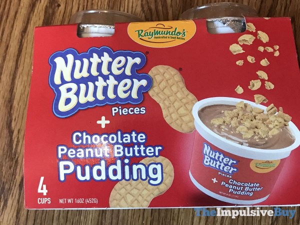 Raymundo s Nutter Butter + Chocolate Peanut Butter Pudding