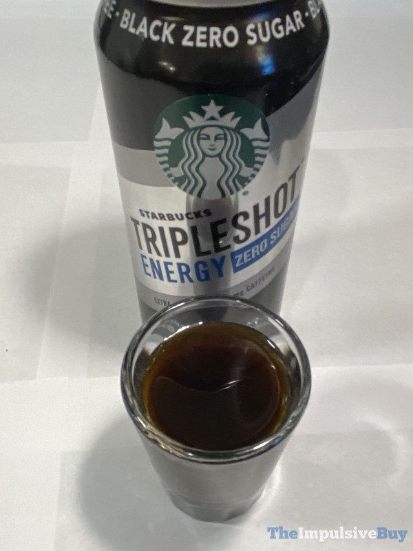 Starbucks Tripleshot Energy Zero Sugar Black