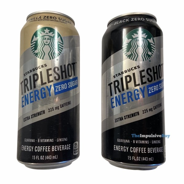 Starbucks Tripleshot Energy Zero Sugar Cans