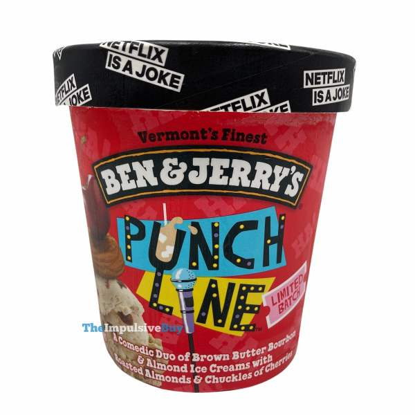 Ben  Jerry s Limited Batch Punch Line Ice Cream Pint