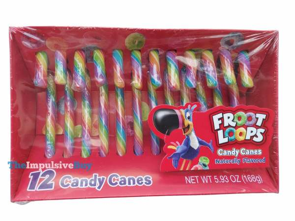 Froot Loops Candy Canes Box