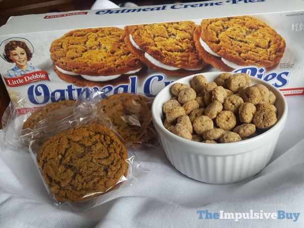 Kellogg s Little Debbie Oatmeal Creme Pies Cereal Creme Pies