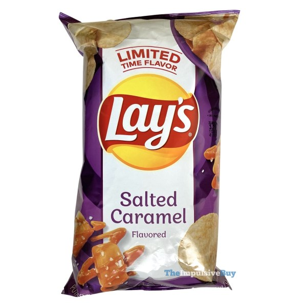 Lay s Salted Caramel Potato Chips Bag