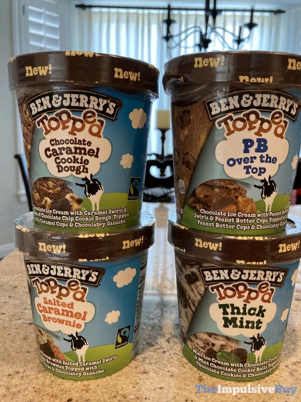 Ben  Jerry s Topped Ice Cream 1