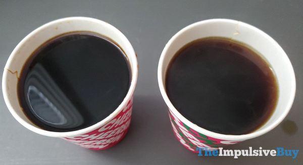 Dunkin Midnight Coffee Comparison