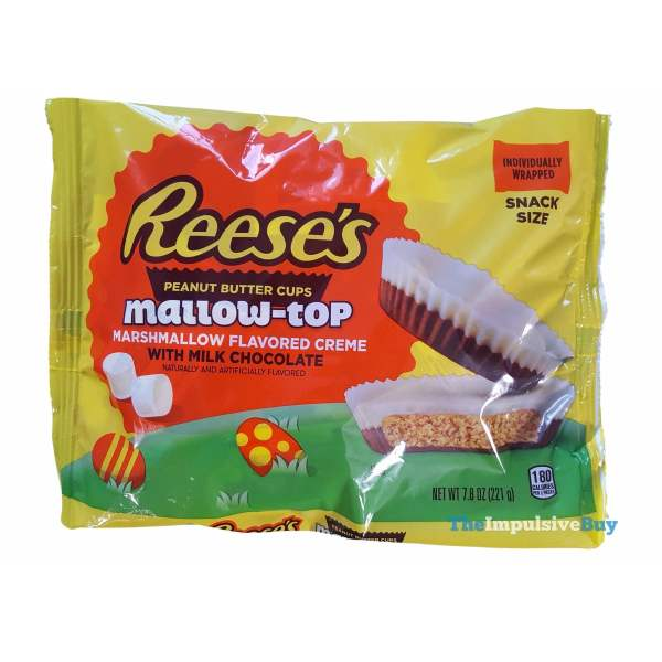 Reese s Mallow top Peanut Butter Cups Bag