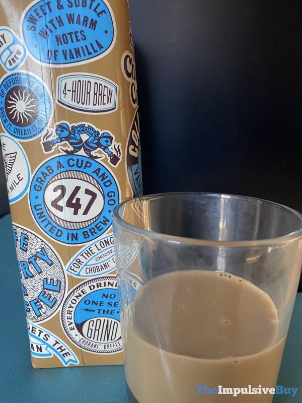 Chobani Cold Brew Coffee Vanilla Creamer