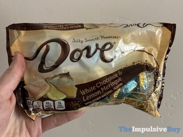 Dove White Chocolate  Lemon Meringue Promises