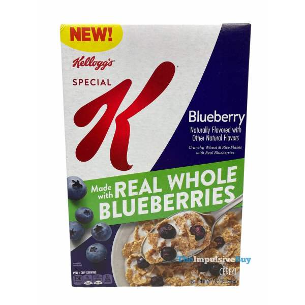 Kellogg s Special K Blueberry Cereal  2021 Box