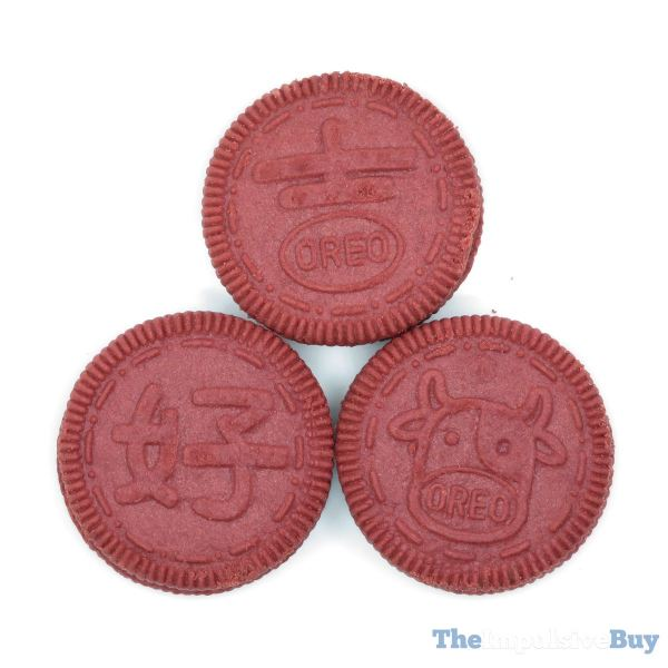 Limited Edition Orange Lychee Oreo Cookies Designs