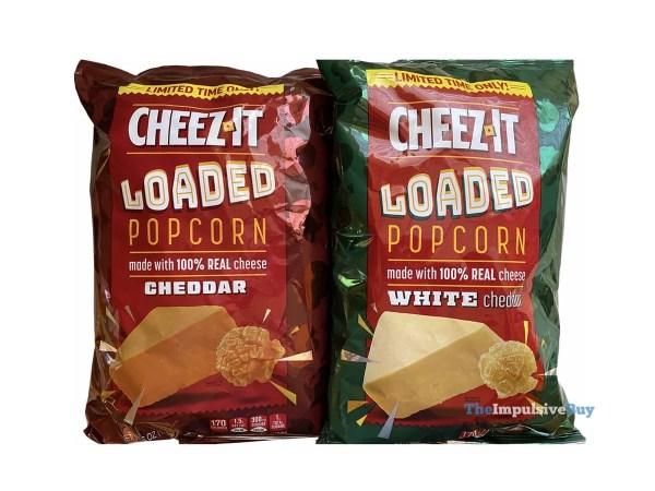 Cheez It Loaded Popcorn Bags