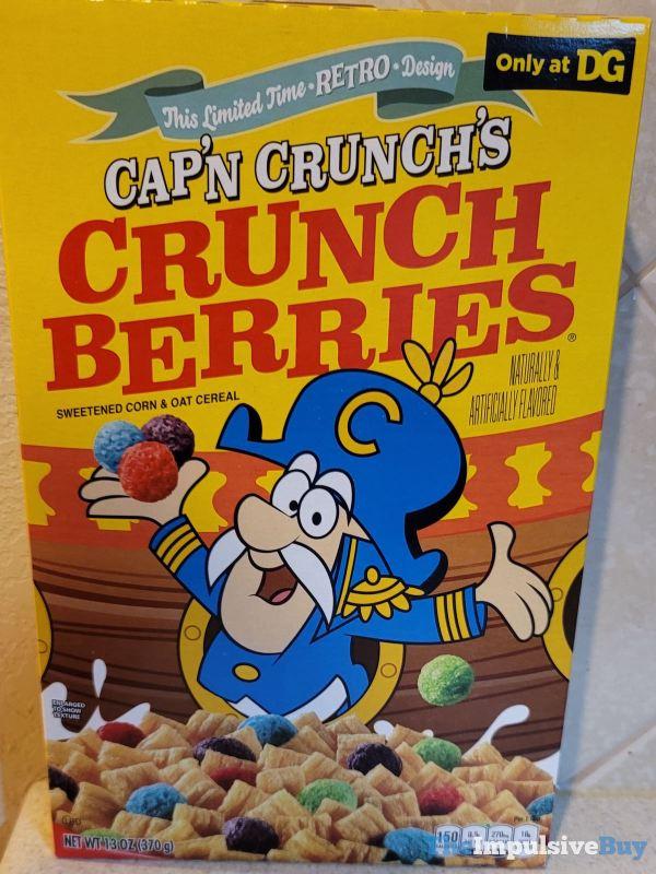 Dollar General Exclusive Cap n Crunch s Crunch Berries Retro Design