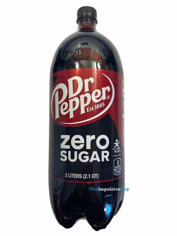 Dr Pepper Zero Sugar Bottle