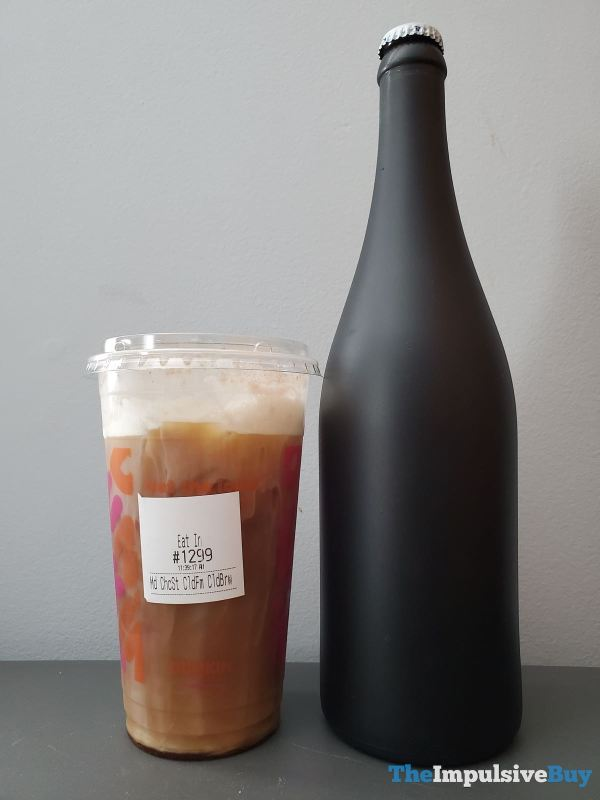 Dunkin Chocolate Stout Cold Brew with Sweet Cold Foam Bottle