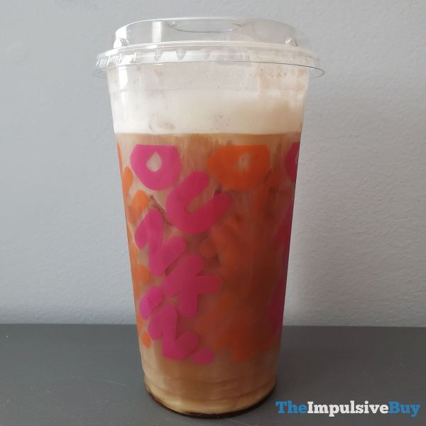 Dunkin Chocolate Stout Cold Brew with Sweet Cold Foam Full
