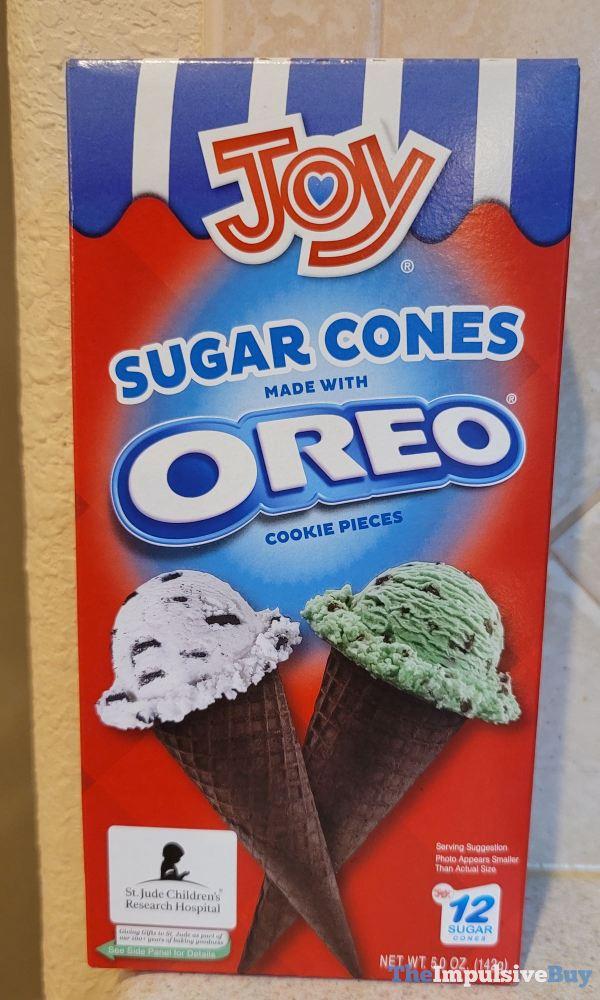 Joy Sugar Cones Made with Oreo