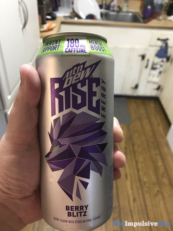 Mtn Dew Rise Energy Berry Blitz