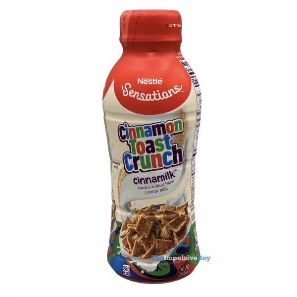 Nestle Sensations Cinnamon Toast Crunch Cinnamilk Bottle