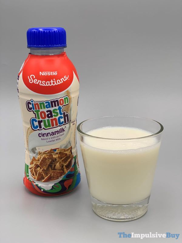 Nestle Sensations Cinnamon Toast Crunch Cinnamilk Out of Bottle