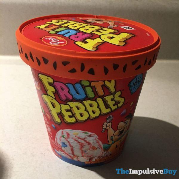 Post Fruity Pebbles Light Ice Cream