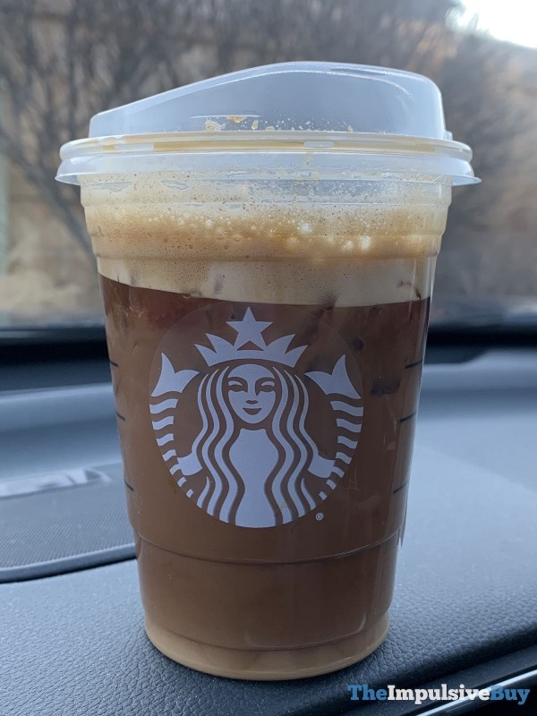 Starbucks Iced Brown Sugar Oatmilk Shaken Espresso Cup