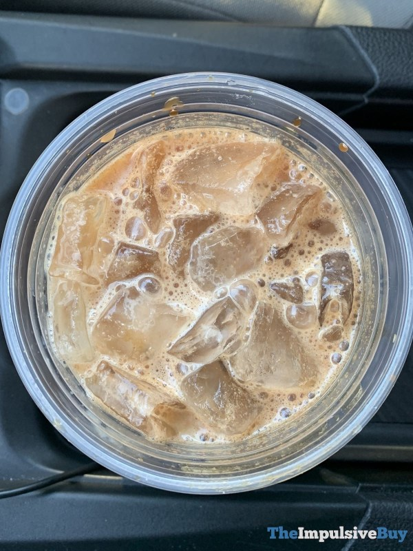 Starbucks Iced Chocolate Almondmilk Shaken Espresso Top