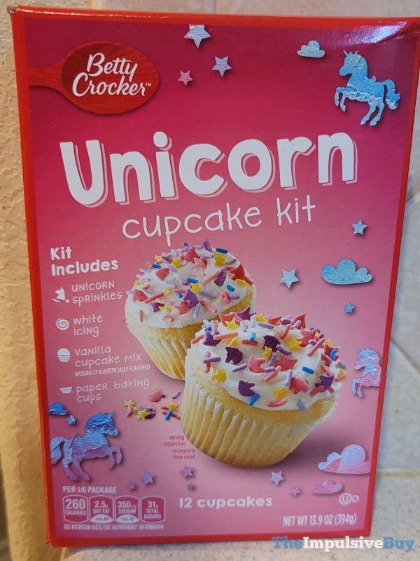 Betty Crocker Unicorn Cupcake Kit