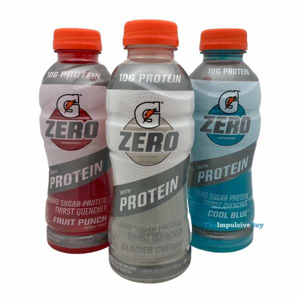 Gatorade Zero with Protein Bottles