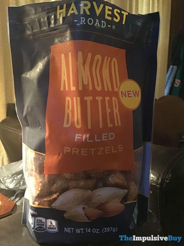Harvest Road Almond Butter Filled Pretzels