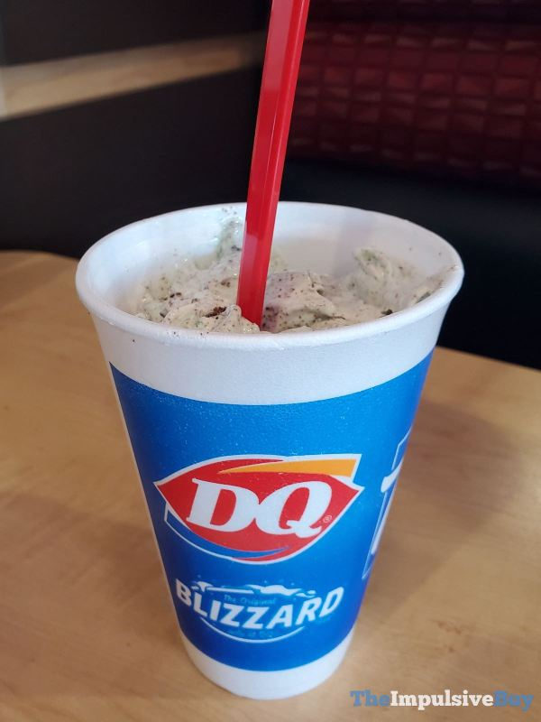 Dairy Queen Girl Scouts Thin Mints Blizzard Cup