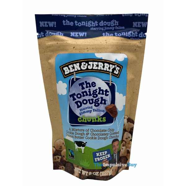 Ben  Jerry s The Tonight Dough Chunks Pouch